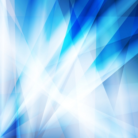 Blue abstract vector background concept with neon lines Stock Vector - 17408137