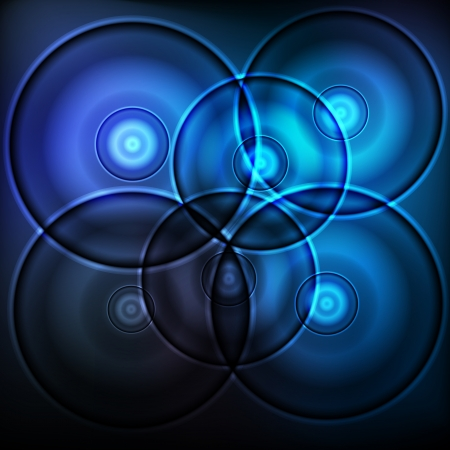 digital camera: Blue abstract futuristic CD background