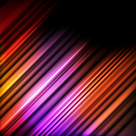 Abstract background vector with neon lines concept Stock Vector - 17408193