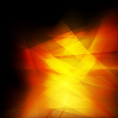 sharp curve: Orange and yellow abstract vector background