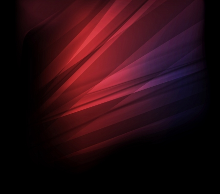 solid color: Abstract pink background on dark with bright lines vector Illustration