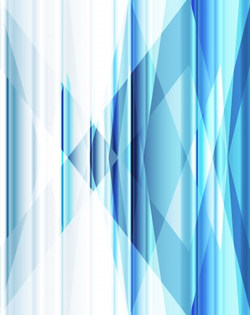 Blue abstract background vector neon template for poster Stock Vector - 17871051