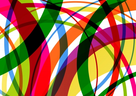 colour: Colorful line background abstract illustration vector