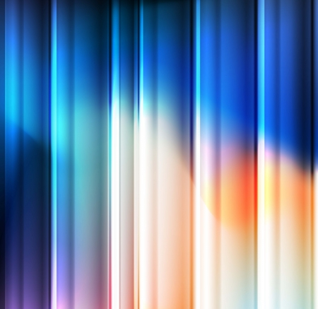 Abstract blue vector background template for poster Stock Vector - 17871006