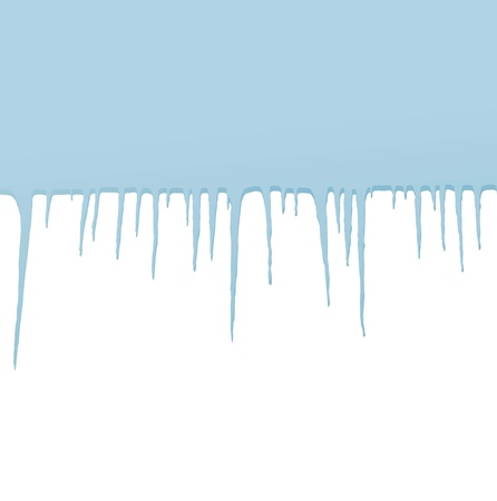 Icicles vector background for poster Stock Vector - 17870932