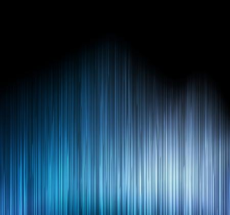 Blue abstract detailed light lines vector background illustration Illustration