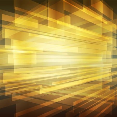 titanium: Gold abstract metal background vector with transparent elements