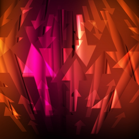 directive: Arrow abstract vector background Illustration