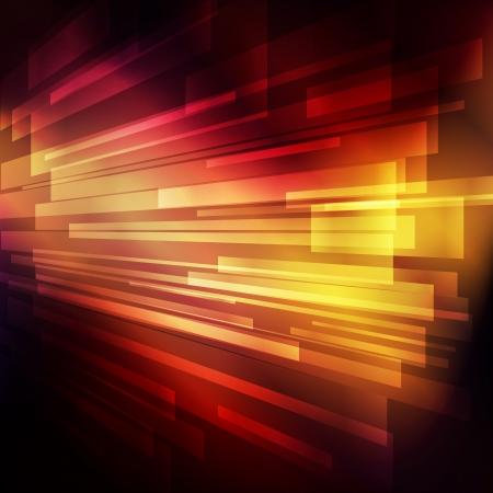 din�mica: Abstract neon template futurista