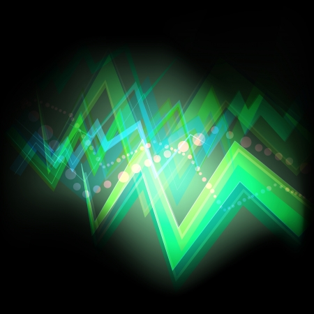 Neon abstract background concept template for poster Vector