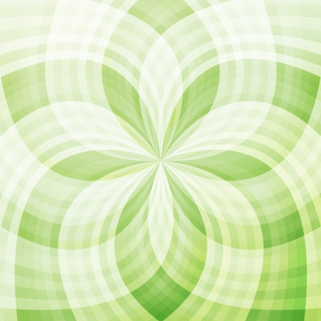 Green abstract background light transparent concept Vector