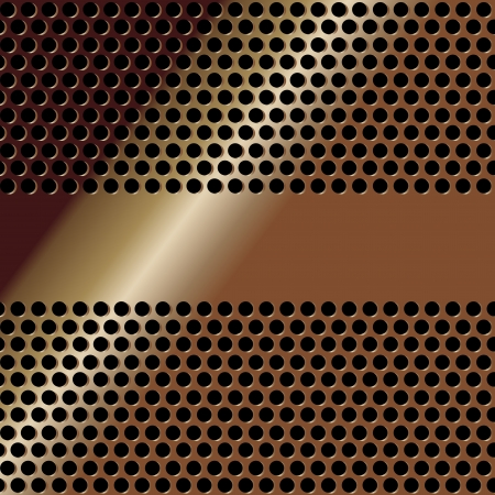 grill pattern: Metallic mesh texture background with reflections