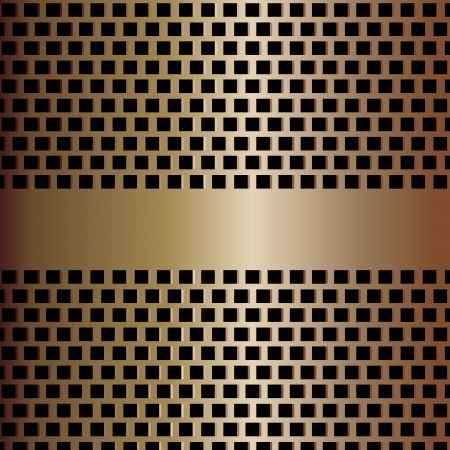 Metallic mesh texture background with reflections