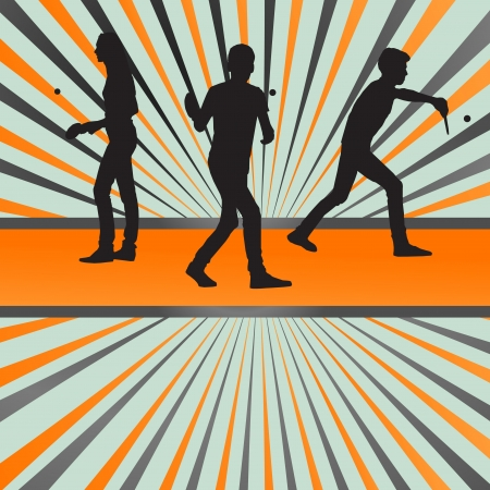 frolic: Table tennis player silhouette table tennis burst background for poster