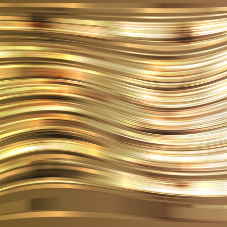 Golden shiny stripes vector background concept template Stock Vector - 22893828