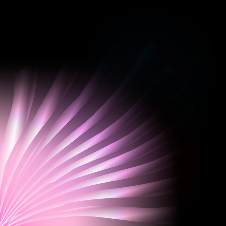 Pink burst abstract background vector lines for poster Vector