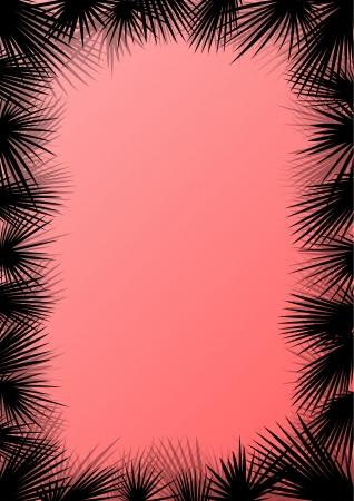 untamed: Hojas de la selva bosque ex�tico, pasto y hierbas silvestres naturaleza salvaje paisaje ilustraci�n de vectores de fondo para el cartel
