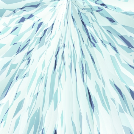 Mountain with snow abstract vector background snowslide for poster Stock Vector - 23814289