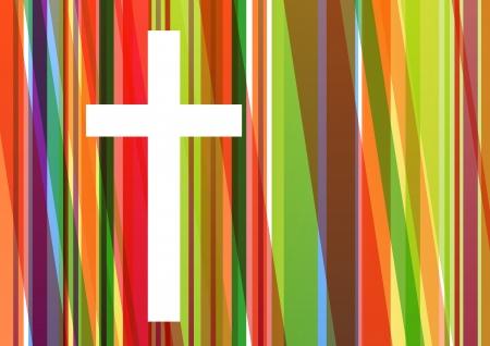 christian cross: Christianity religion cross mosaic