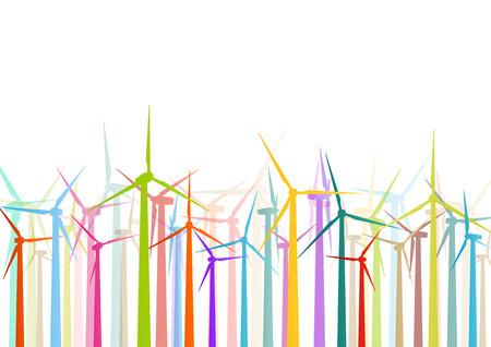 rural development: wind electricity generators and windmills