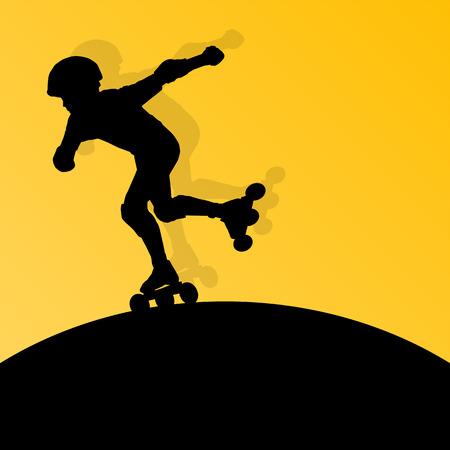 roller blade: Roller skating