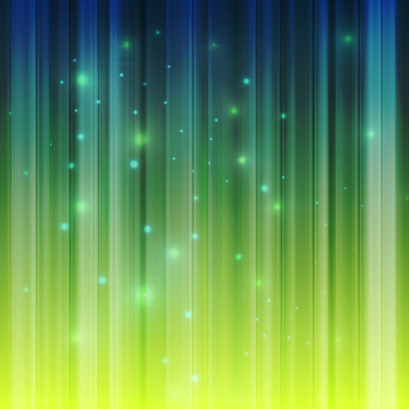 Northern lights vector background template concept for poster