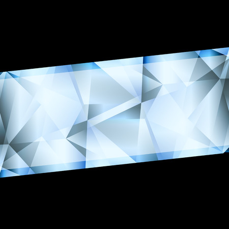 jewelry background: Diamond abstract vector jewelry background concept for poster Illustration