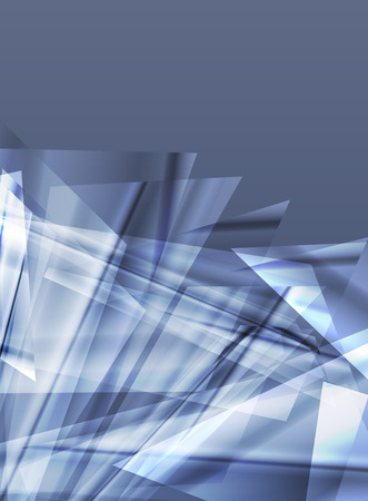 Abstract background design vector concept made of transparent fragments