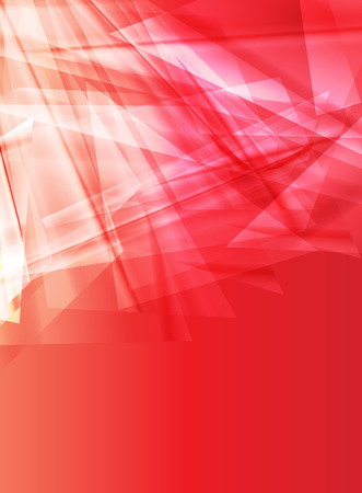 fragments: Abstract background design vector concept made of transparent fragments