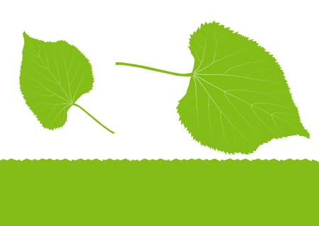 environmentally friendly: Green leaf ecology background vector environmentally friendly illustration