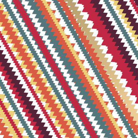 Knitting abstract vector background with modern retro colors