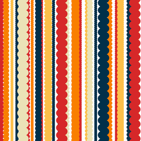 warm clothing: Knitting abstract vector background with modern retro colors