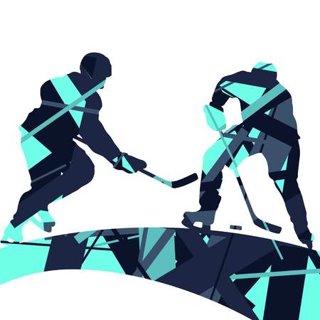 Creative concept of a sport silhouettes mosaic abstract background illustration vector