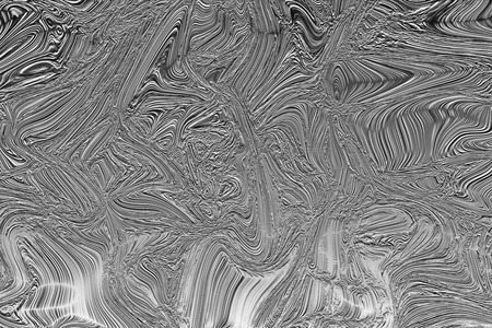 viscosity: Abstract black and white psychedelic liquid waves background