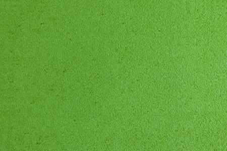 acetate: Eva foam ethylene vinyl acetate apple green surface sponge plush background