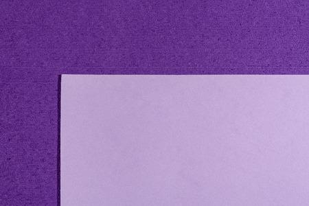 eva: Eva foam ethylene vinyl acetate smooth light purple surface on purple sponge plush background