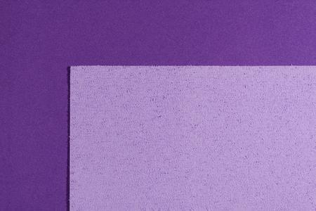 ethylene: Eva foam ethylene vinyl acetate sponge plush light purple surface on purple smooth background