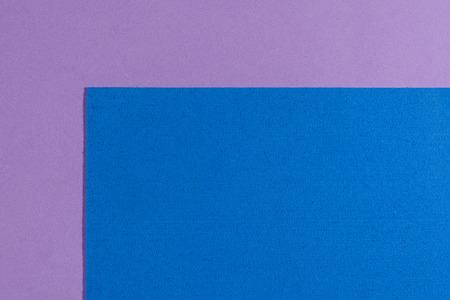 ethylene: Eva foam ethylene vinyl acetate sponge plush blue surface on light purple smooth background Stock Photo