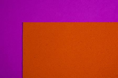 ethylene: Eva foam ethylene vinyl acetate sponge plush orange surface on pink smooth background