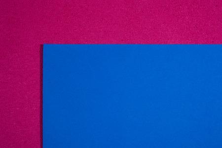 ethylene: Eva foam ethylene vinyl acetate smooth blue surface on pink sponge plush background