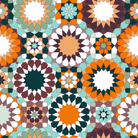 Tiles, islamic ornaments. Can be used for wallpaper, pattern fills, web page background, surface textures.