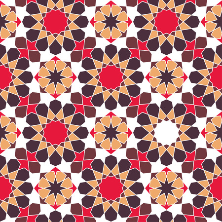 printables: Modern line vector traditional arabic pattern background design. Ideal for wall decoration, printables and wrapping paper design. Illustration