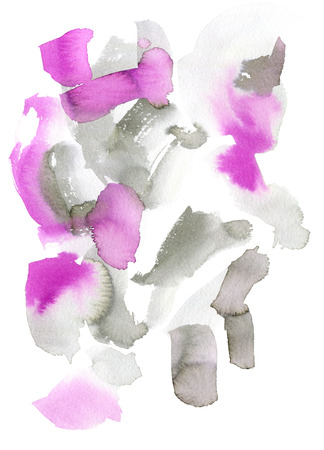 Watercolor background for textures and backgrounds. Natural colors.Purple, pink and gray. Can be used for print: bags, t-shirts, home decor, posters, cards, and for web: banners, blogs, advertisement.