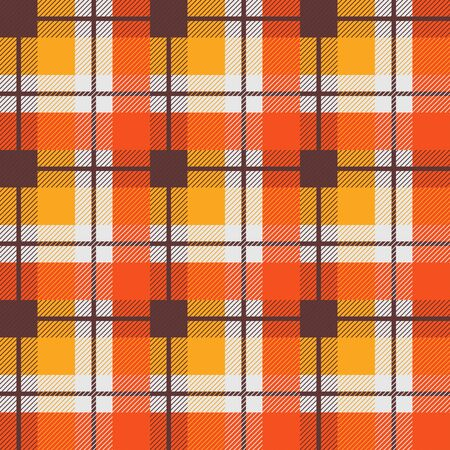 Plaid vector seamless pattern