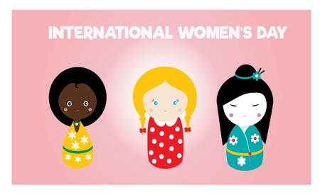 colore: International womens day card