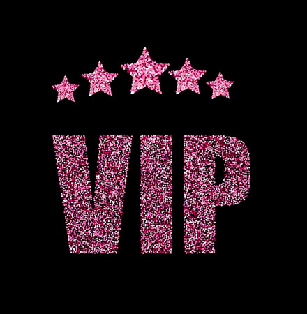 splendour: VIP status card with pink rank stars