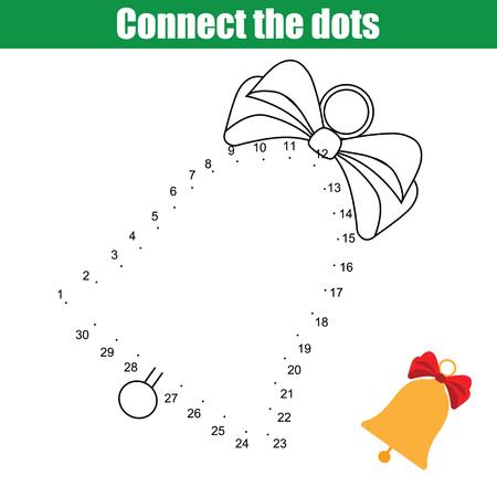 Verbinden Sie Die Punkte Kinder Bildungs-Zeichnung Spiel. Dot To Dot ...