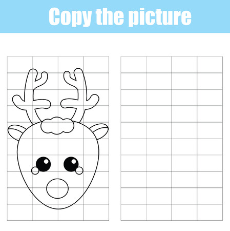 Coloring Page With Winter Cottage House. Children Educational ...