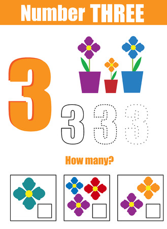 Handschriftübung. Mathematik Und Zahlen Lernen. Nummer Fünf ...
