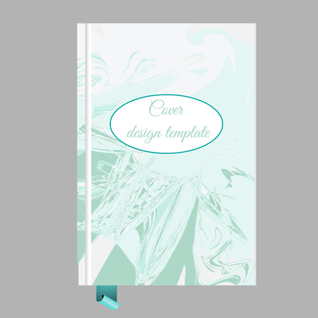Cover Design Template Notepad Book Booklet Template With Artistic